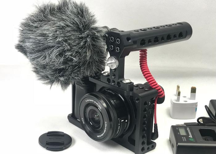 sony a6300-1650-len-4k-video-hd-cage-rode-mic-kit-51965423.JPG