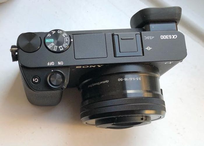Sony a6300 4k mirrorless camera - 2