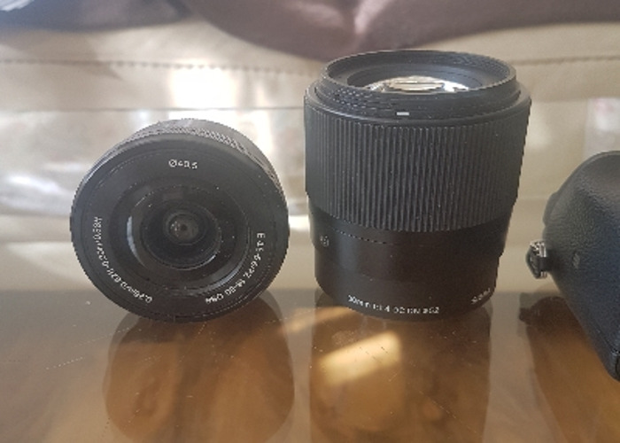 Sony a6300 with 2 lenses  - 2