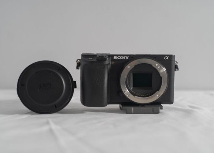 Sony A6300 with Sigma Mc-11 + 128gb SD Card - 1