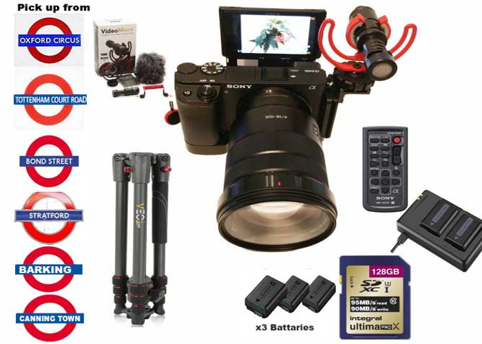 Sony a6400 18-105 Zoom lens kit - 1