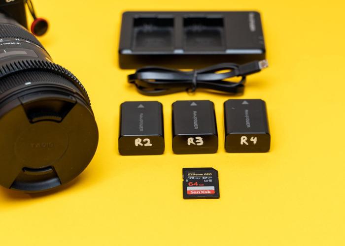 Sony A6400 Video Kit | Sigma 18-35 - 2