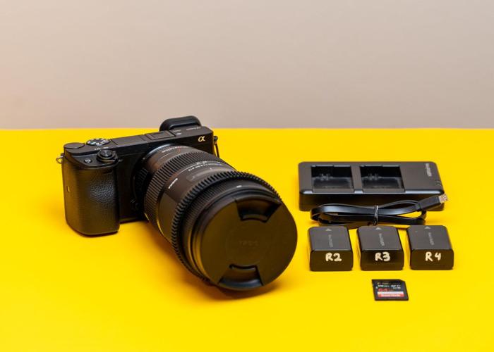 Sony A6400 Video Kit | Sigma 18-35 - 1