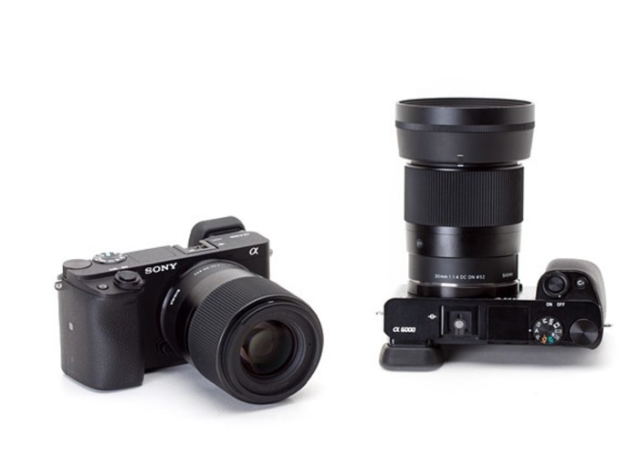 Sony a6500 4K Mirrorless Camera w/ 16mm, 30mm & 50mm - 2