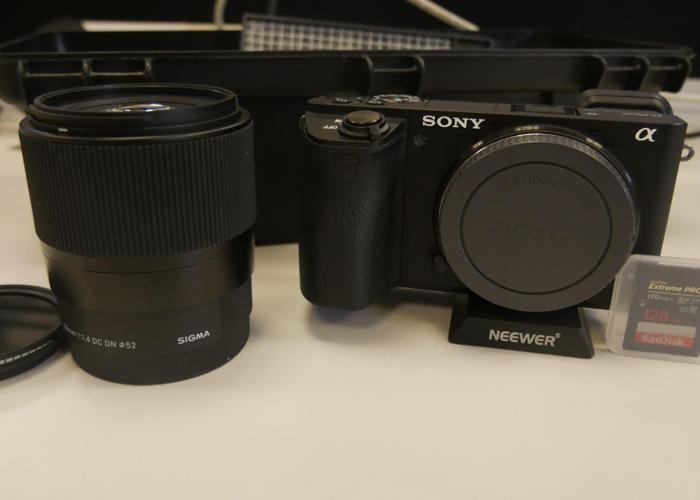 Sony a6500 - 2