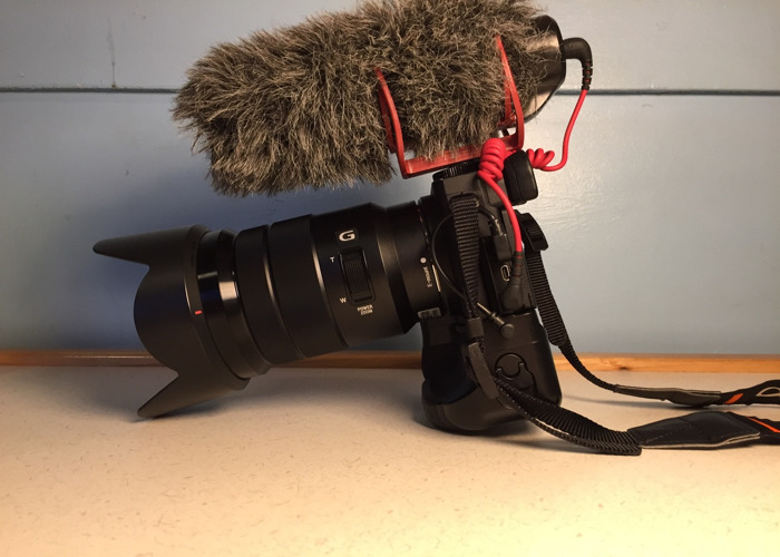 Sony a6500 with 18-105 lens + film-making kit - 2