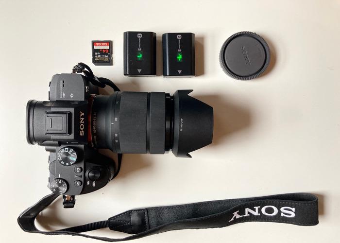 Sony a7 iii + 28 - 70mm + 2 Batteries + SD +KIT BAG - 1