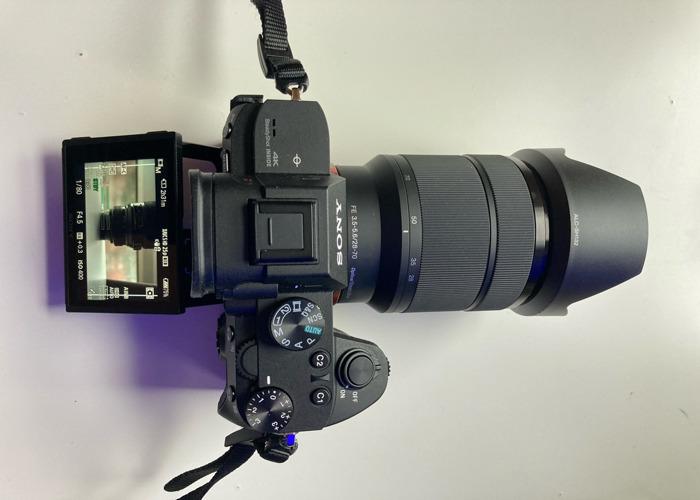 Sony a7 iii + 28 - 70mm + 2 Batteries + SD +KIT BAG - 2
