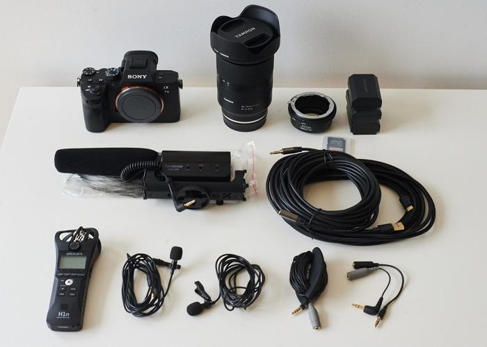 Sony A7 III + Tamron 28-75 + Microphone kit (like Rode) - 1