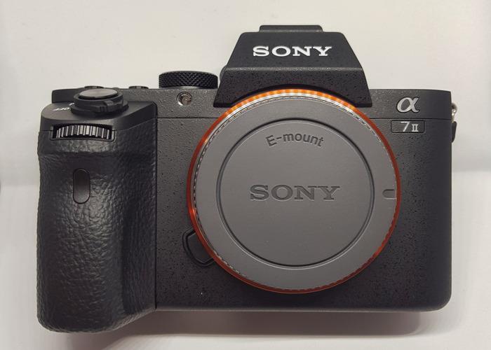 Sony A7 mark ii body only - 2