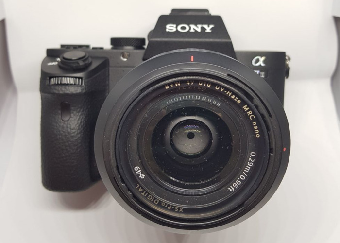 Sony A7 mark II with Sony 55/1.8 zeiss e-mount FE lens  - 1