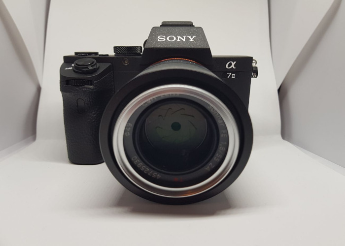 Sony A7 mark II with Sony 55/1.8 zeiss e-mount FE lens  - 2