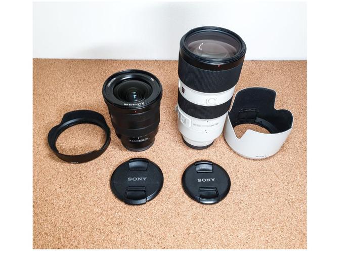 Sony A73 III + 16-35, 70-200 mm F2.8 GM Lens set Sony A7III - 2