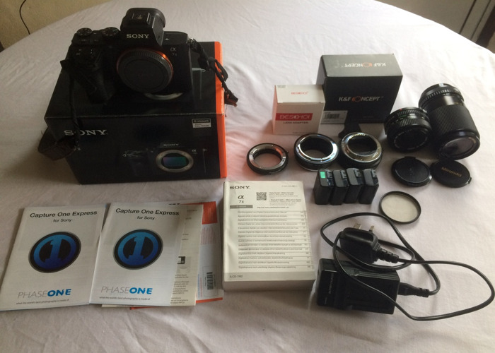 Sony a7ii Body and Kit - 1