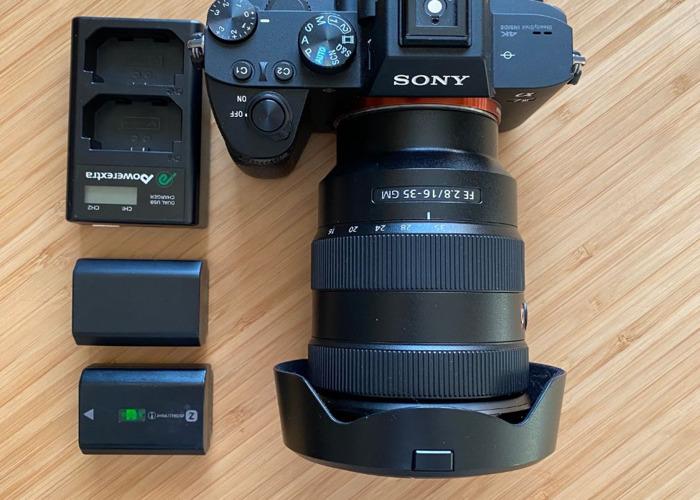 Sony a7iii + 16-35 mm Lens Bundle  - 1