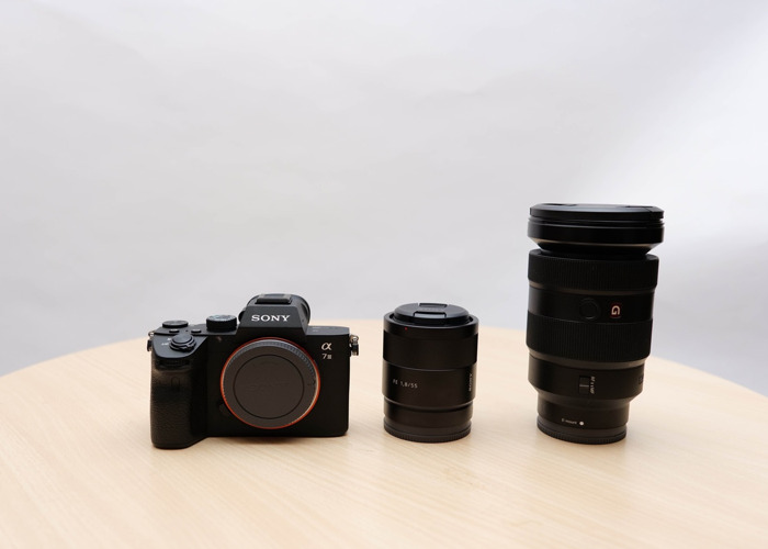 Sony A7III + 24-70 GMaster Lens + 55mm lens - 1
