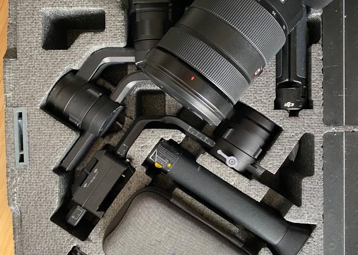 Sony A7iii + 24-70mm f2.8 lens + Ronin S Gimbal bundle - 1