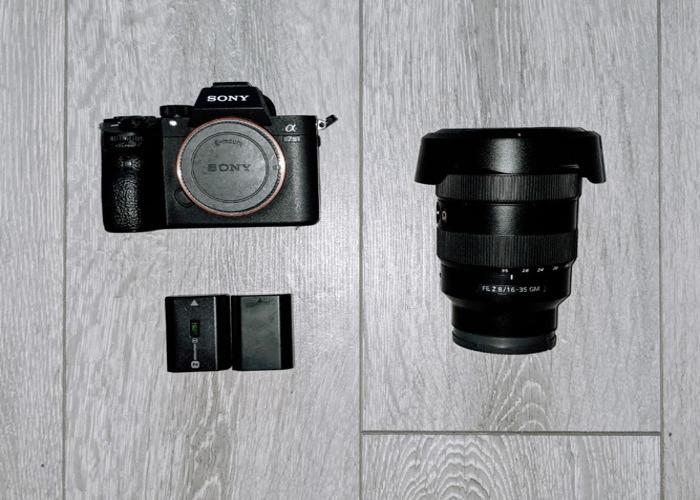 Sony A7III + FE 16-35 f2.8 GM A73 (Bundle) - 2