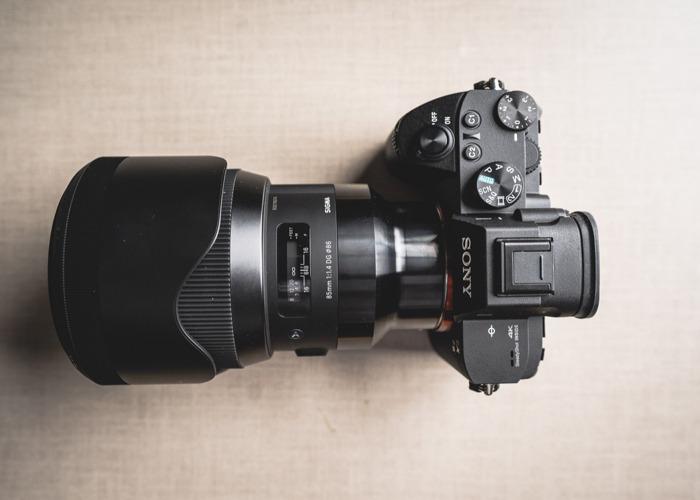 Sony A7iii + Sigma 85mm F1.4 DG HSM - 1