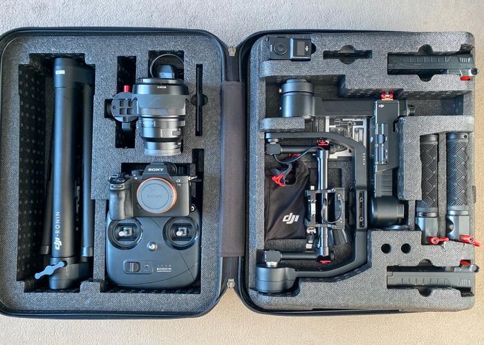 Sony A7III + Sony Zeiss 35mm f1.4 + Ronin M Gimbal - 1