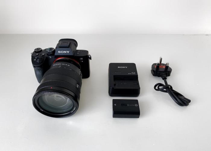 Sony A7III 3 + 24 - 105 f/4 G Lens - 2