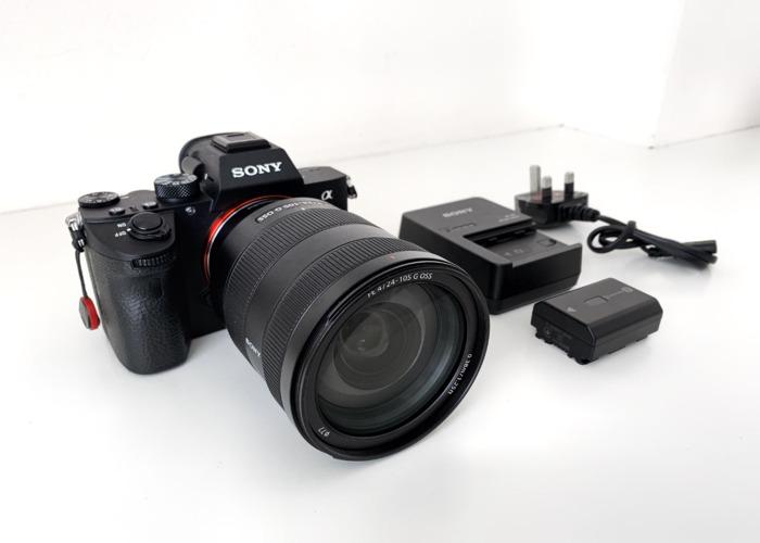 Sony A7III 3 + 24 - 105 f/4 G Lens - 1
