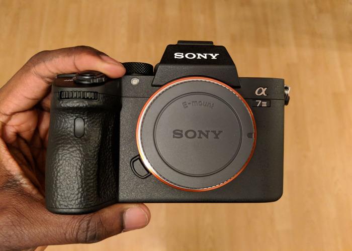Rent Sony A7III (Sony A7 mk 3) in London | Fat Llama
