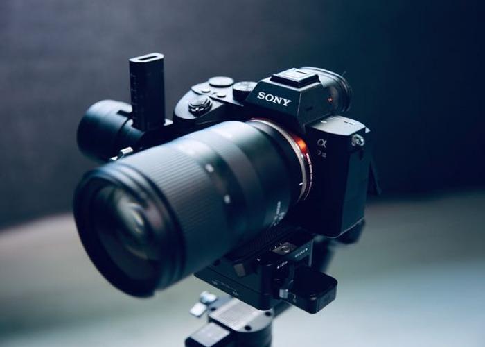 Sony A7iii A73 + DJI Ronin S Gimbal Stabiliser / with lenses - 2