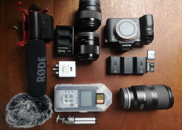 Sony A7iii (a73) kit, Tripod, audio and Ronin S - 1