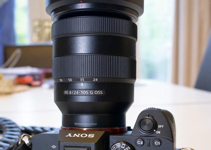 Sony A7III Camera + 24-105mm/F4 Sony G OSS zoom lens - 2