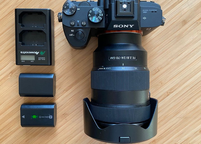Sony a7iii Camera + 24-70 mm f2.8 G Master lens - 1