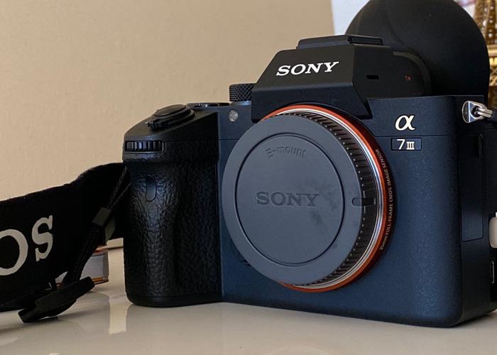 Sony A7iii Camera Body  - 2