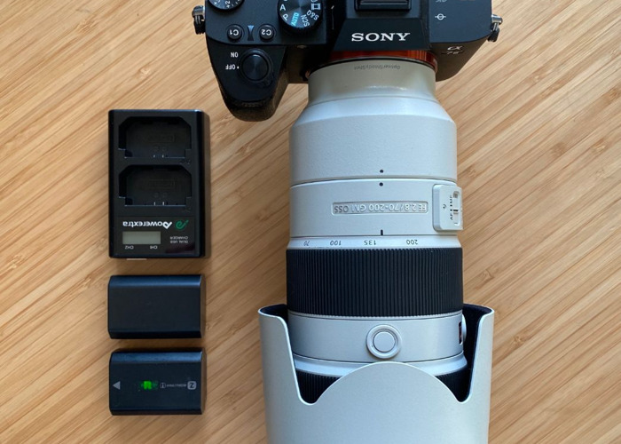 Sony a7iii Camera plus 70-200 mm f2.8 GM Lens Bundle  - 1