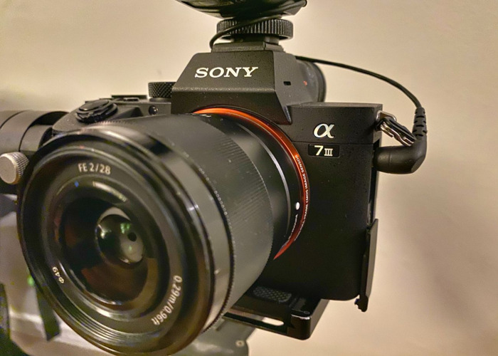 Sony A7iii gimbal kit with audio - Rode VideoMic and Tascam - 2