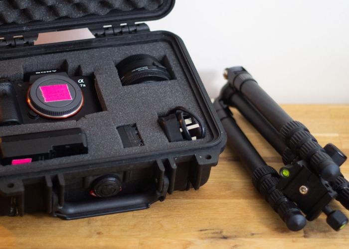 Sony A7iii Mirrorless Camera and Tripod - 1