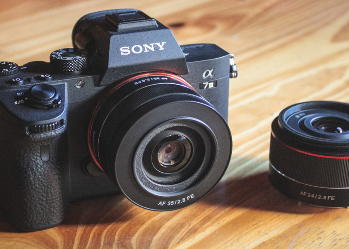 Sony A7iii with batteries and 35mm - 1