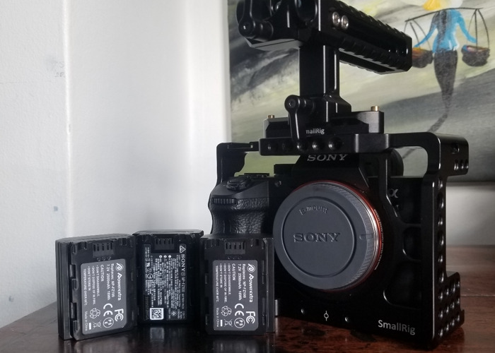 Sony A7III With Cage + Top Handle - 1