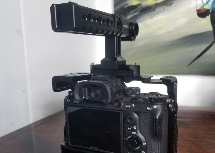 Sony A7III With Cage + Top Handle - 2