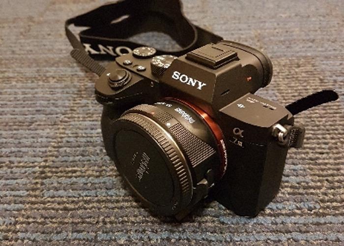 Sony A7iii with Metabones Smart Adapter (A7 3 A73 A7 iii) - 1