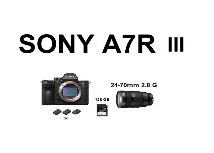 Sony A7R 3, A7R III + 24-70mm 2.8 G Lens  - 1