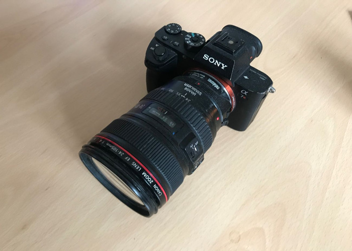 Sony A7R with Metabones Adapter - 2