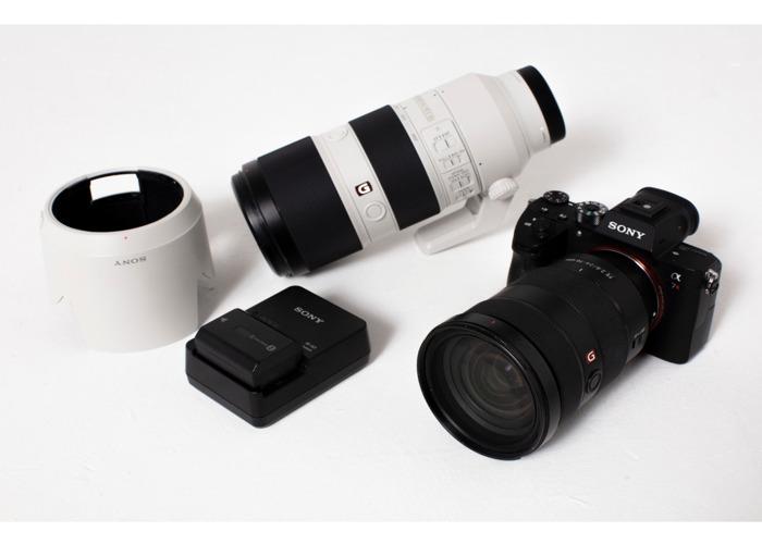 Sony A7r III + 24-70mm + 70-200mm f2.8 G Master Lenses Lens  - 2