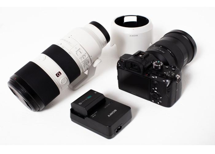 Sony A7r III + 24-70mm + 70-200mm f2.8 G Master Lenses Lens  - 1