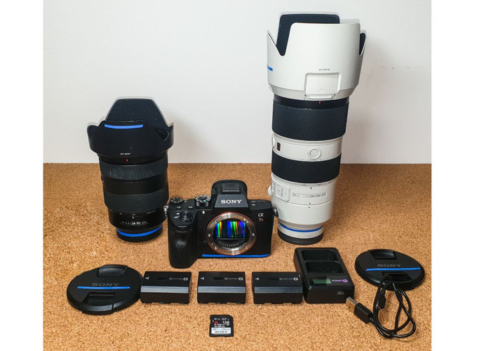 Sony A7R3 III + 24-70mm, 70-200mm F2.8 GM Lens set. Sony A73 - 1