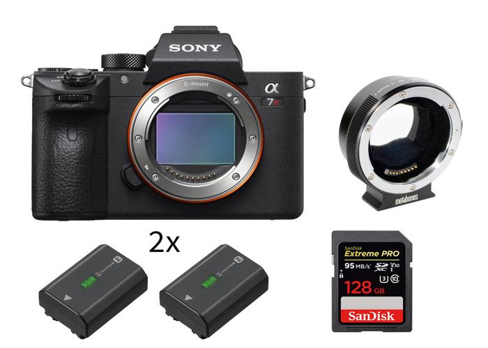 Sony a7RIII Mirrorless Camera (Body) + Metabones Canon - 1
