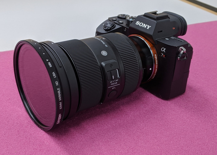 Sony A7R mk3 DSLR + Sigma 24-70mm 2.8 lens - 2