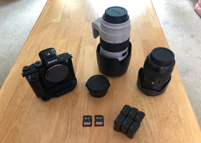 Sony A7R2 Pro Filmmakers Kit (Sigma 18-35 and Canon 70-200) - 1