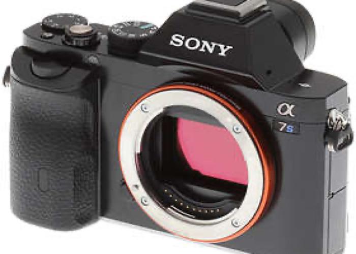 Sony a7s + lens  - 1
