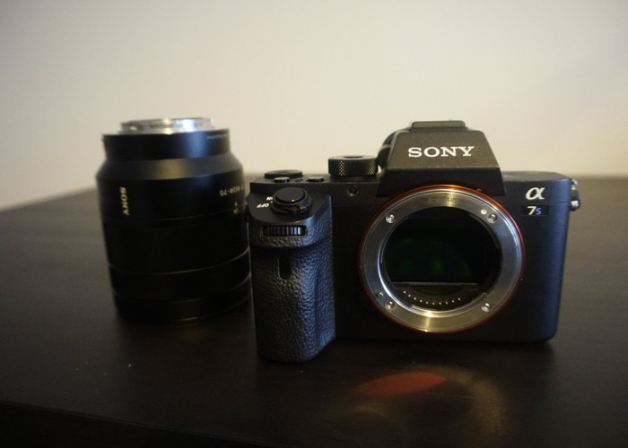 Sony A7S Mirrorless Camera | Asdela