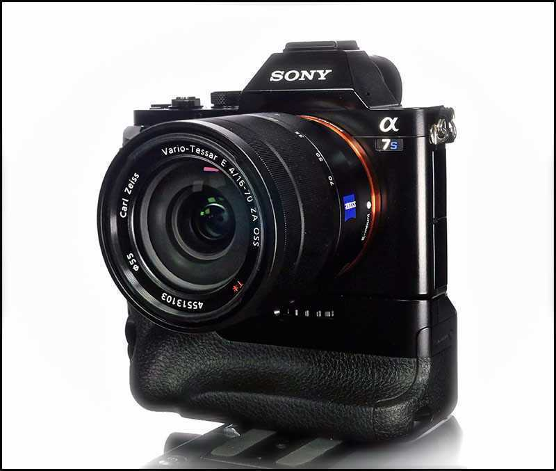 Sony A7S DSLR Mirrorless Camera with Lens and Accessories - 1